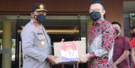 PT Bintang Internasional Serahkan Bantuan ke Polda Sulut bagi Masyarakat Terdampak Pandemi