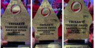 Debut Kabupaten Minut di Ajang Trisakti Tourims Award 2021 Langsung Sabet Tiga Penghargaan Sekaligus