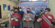 Tim Reserse Narkoba Polresta Manado Kembali Berhasil Uangkap Kasus Penyalahgunaan Obat Terlarang