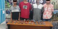 Satgassus Maleo Amankan Empat Pelaku Pencurian di Kios Pasar Bersehati Manado