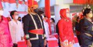 Berbusana Adat Minahasa, Kapolda Hadiri Puncak Peringatan HUT ke-57 Provinsi Sulut